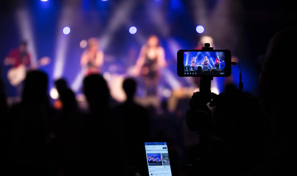 video concierto